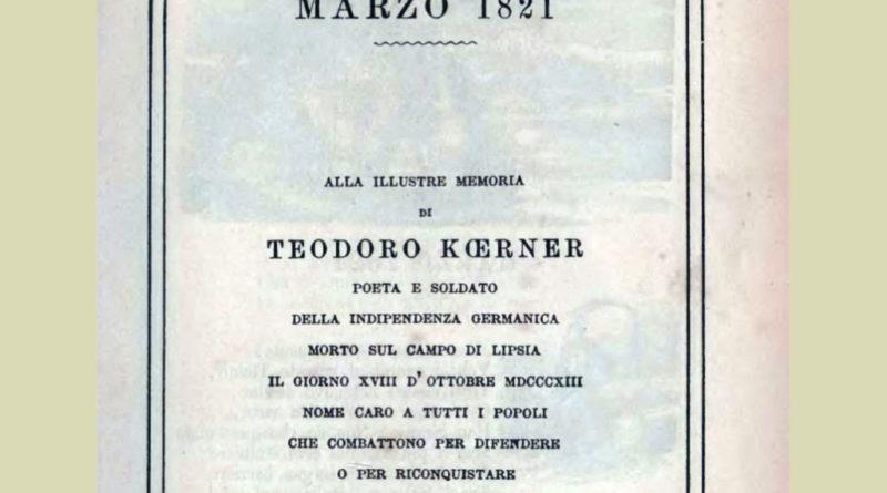 Odi civili: Marzo 1821 (di Alessandro Manzoni)