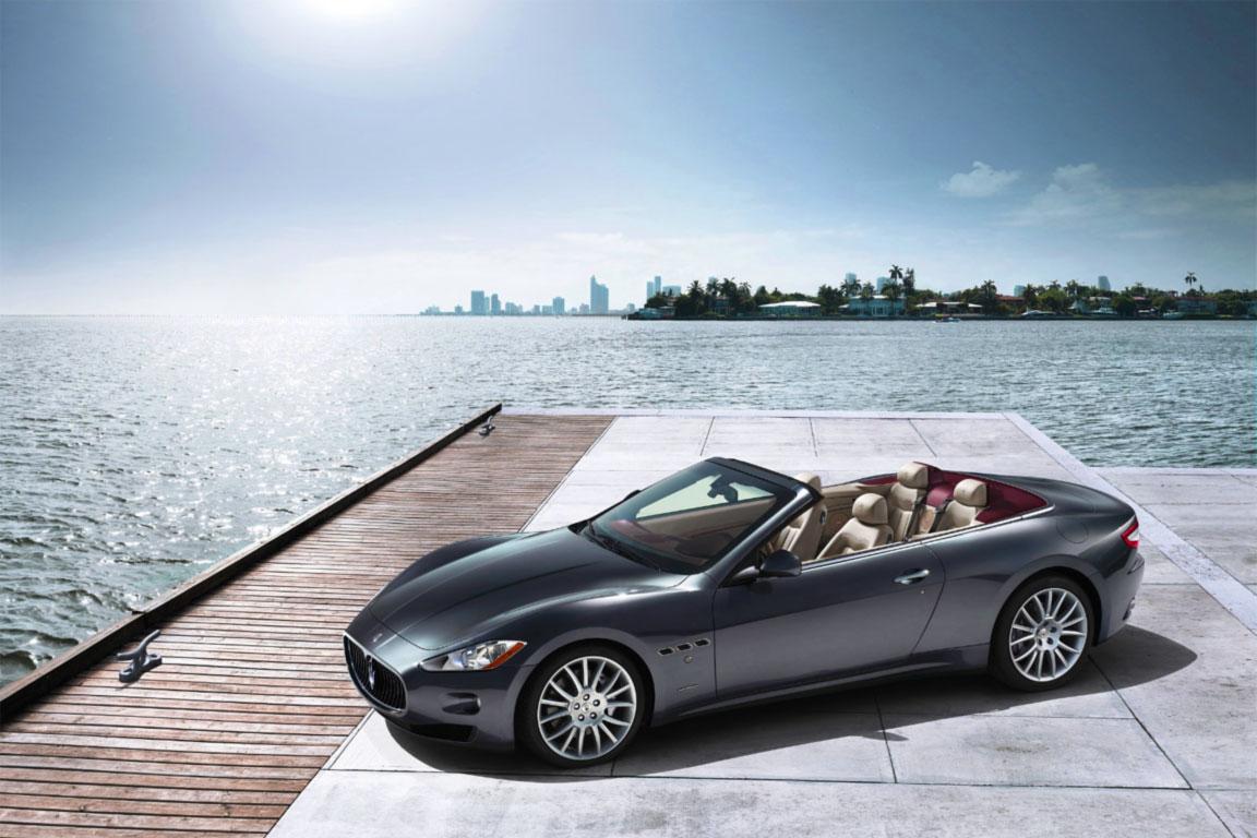 Una foto della Maserati Gran Cabrio 2007