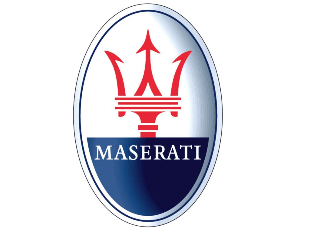 Il logo della Maserati