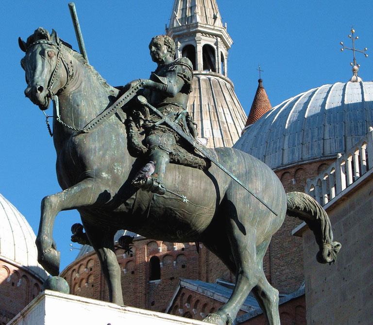 Gattamelata Monumento equestre Donatello