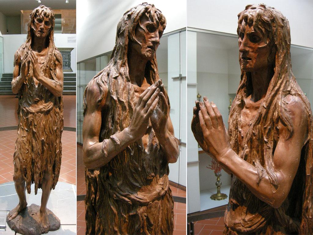 Maddalena lignea: Donatello