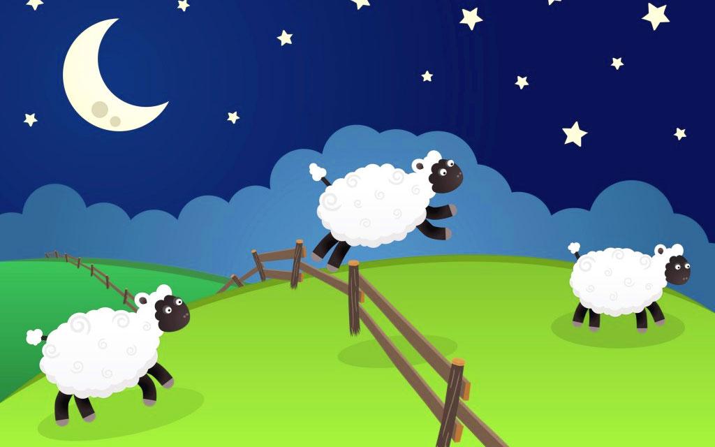 Addormentarsi contando le pecore
