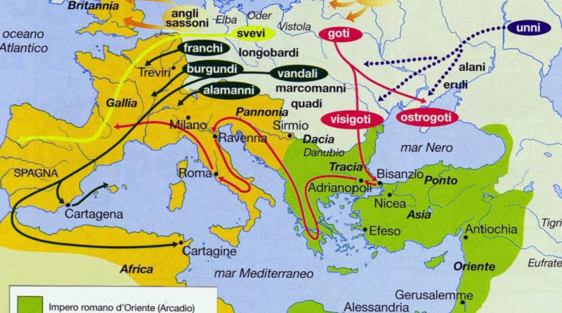 caduta fine impero romano