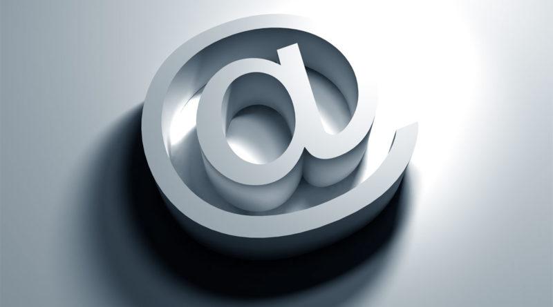 chiocciola simbolo email