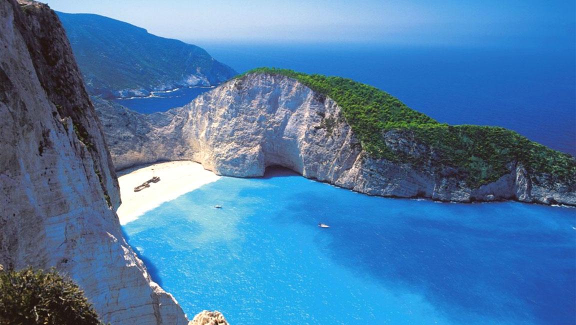 Foto dell'isola greca di Zacinto