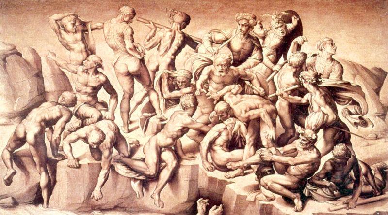 Battaglia di Cascina - Michelangelo