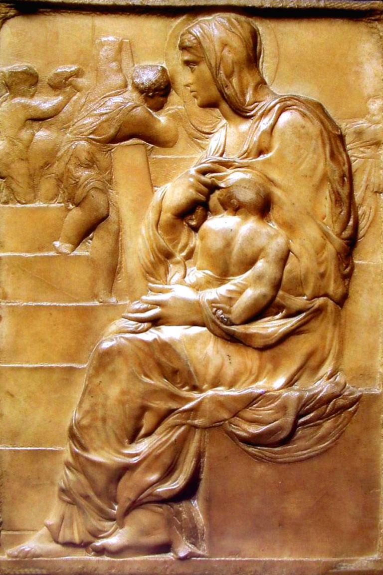 Michelangelo: Madonna della scala