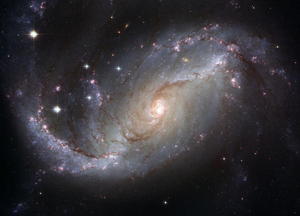 Galassia a spirale NGC 1672