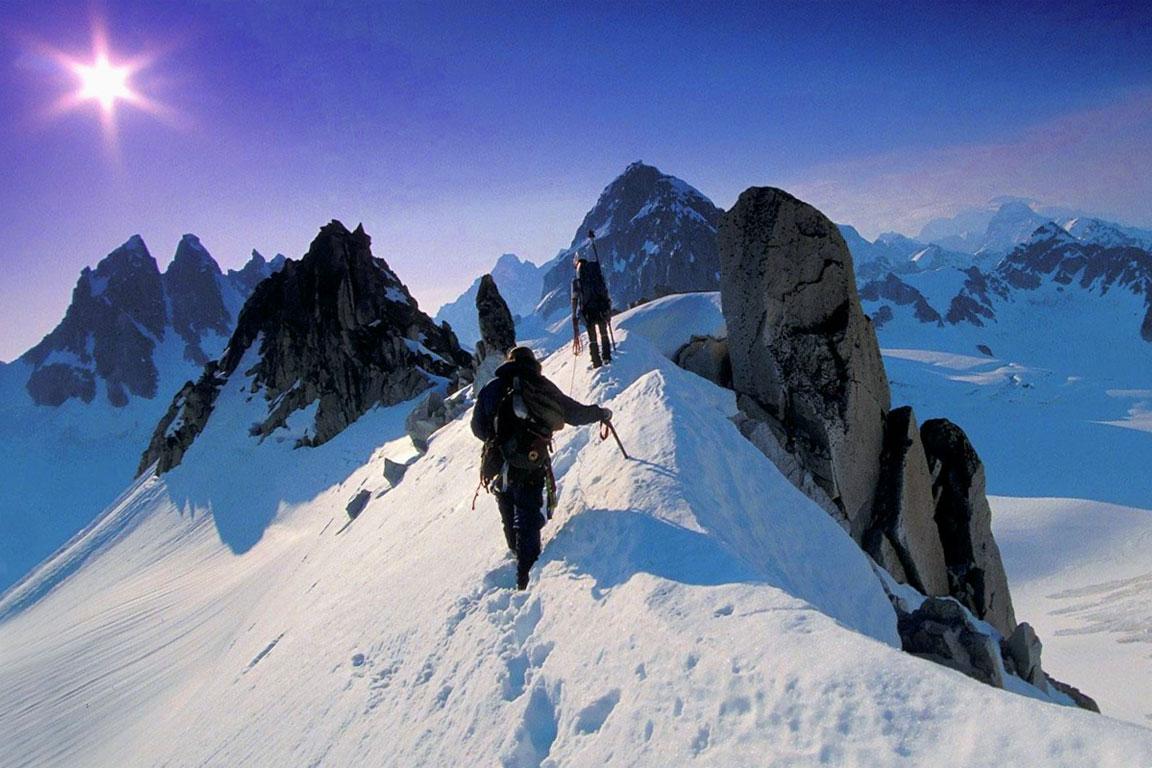 L'alpinismo è uno degli sport estremi più diffusi
