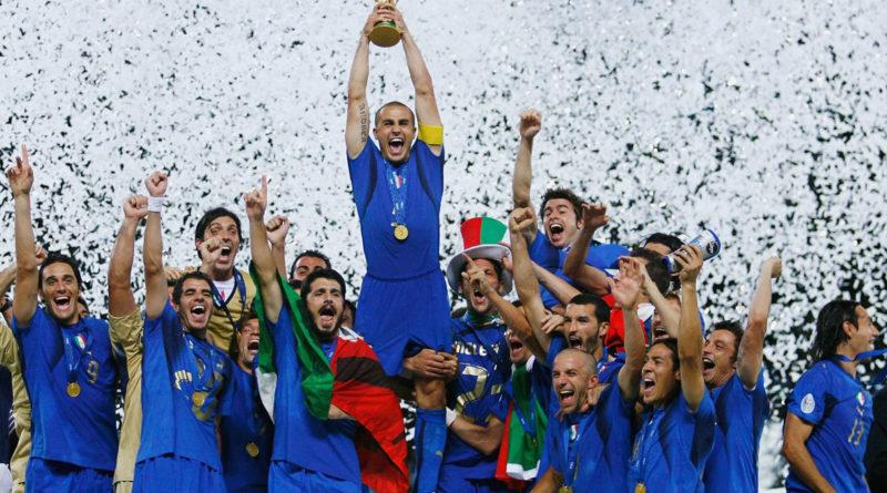 La maglia azzurra della nazionale italiana