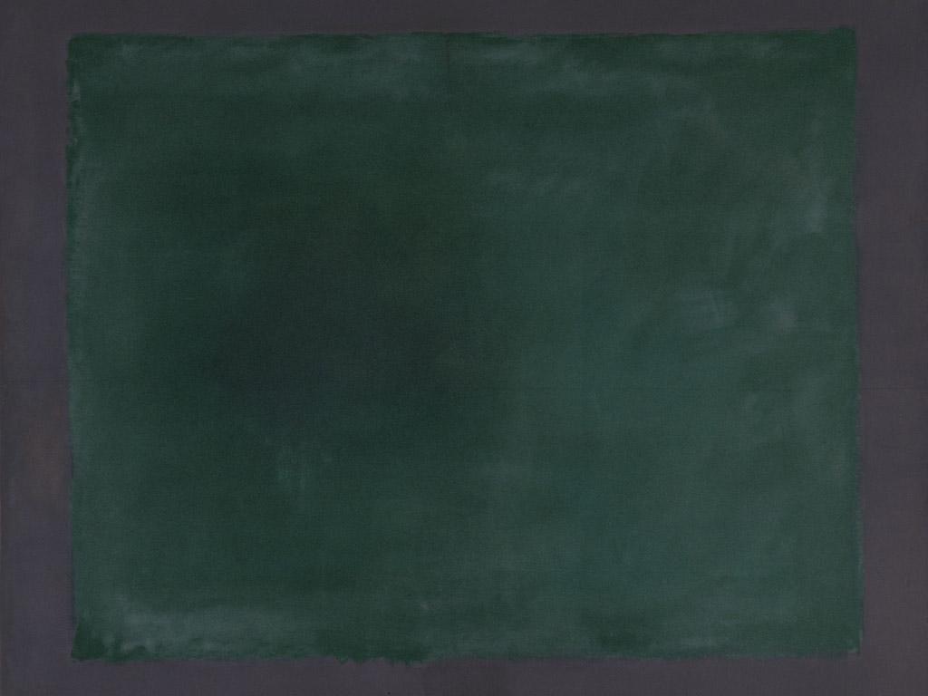 Rothko, Green or maroon