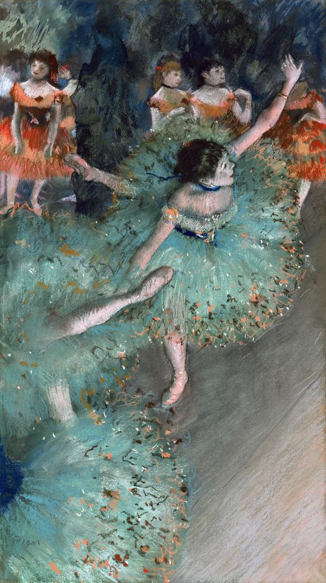 Ballerina Verde - Degas