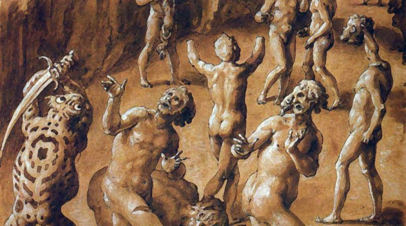 Canto 28, Giovanni Stradano, 1587