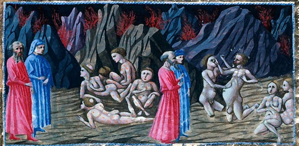 Divina Commedia. Inferno, Canto 30. Dante