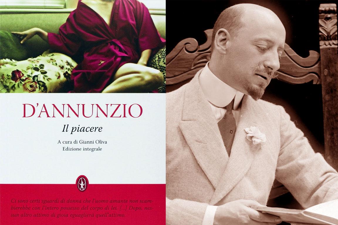 Il Piacere, Gabriele D'Annunzio