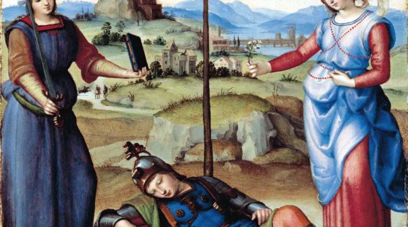 Il sogno del cavaliere (opera di Raffaello)