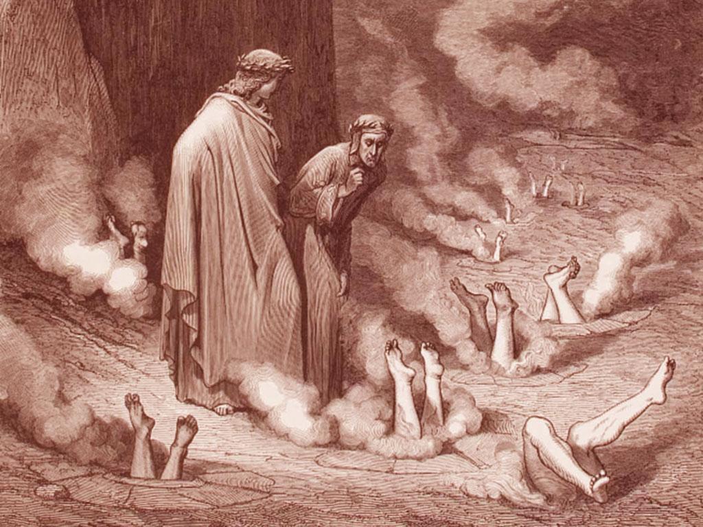 Inferno Dante Canto XIX