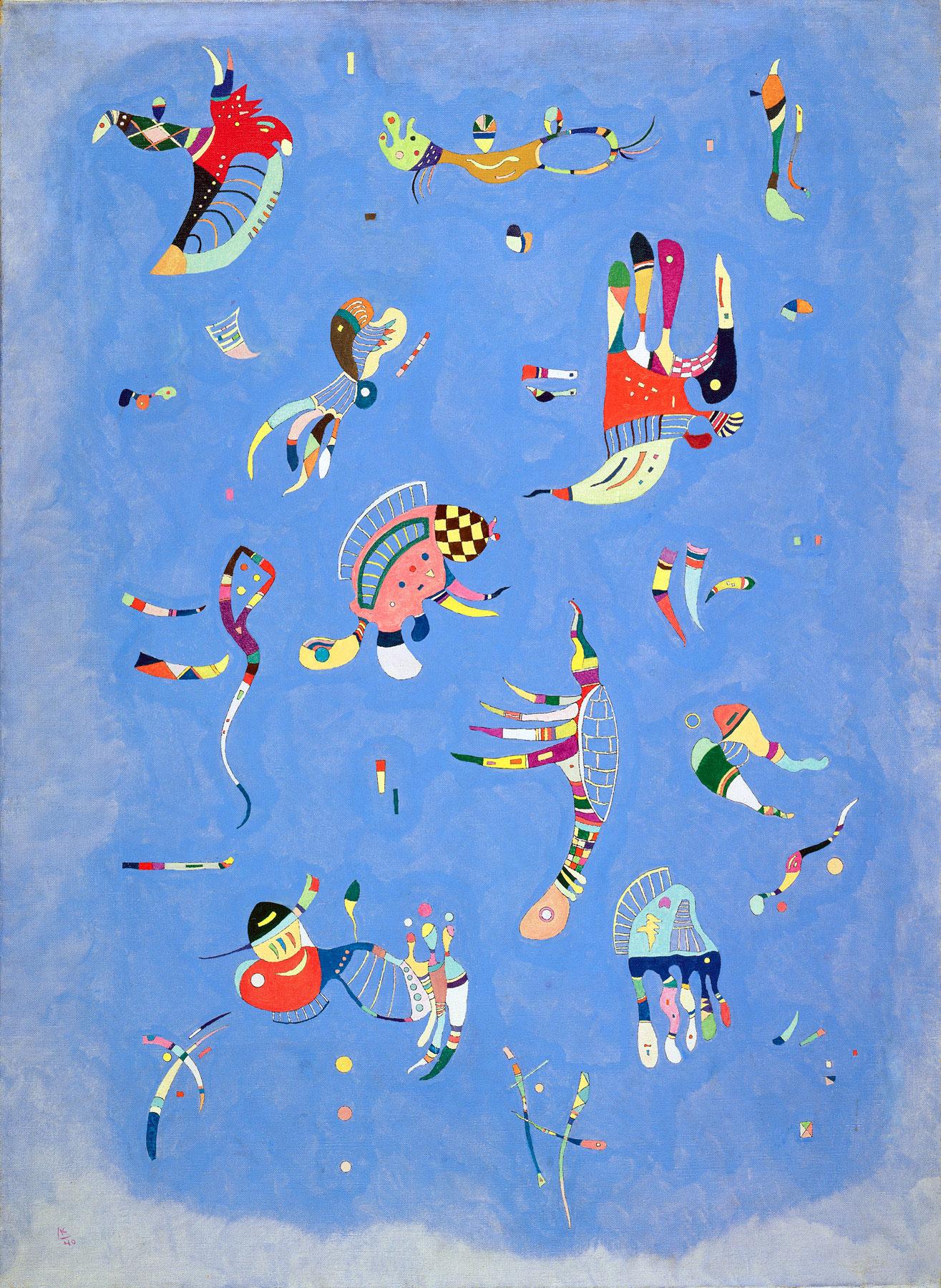 Kandinsky - Cielo Blu