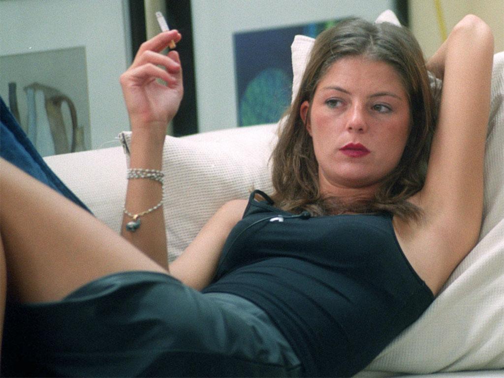 Marina La Rosa alla prima edizione italiana del Grande Fratello