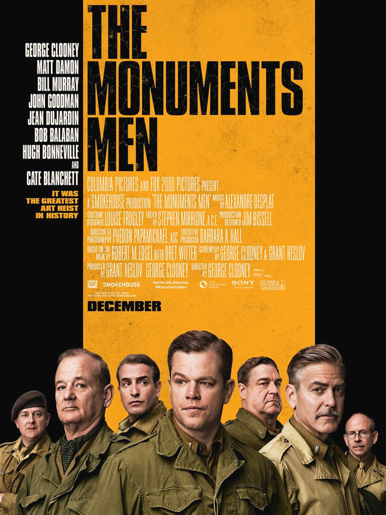 Monuments Men - Locandina