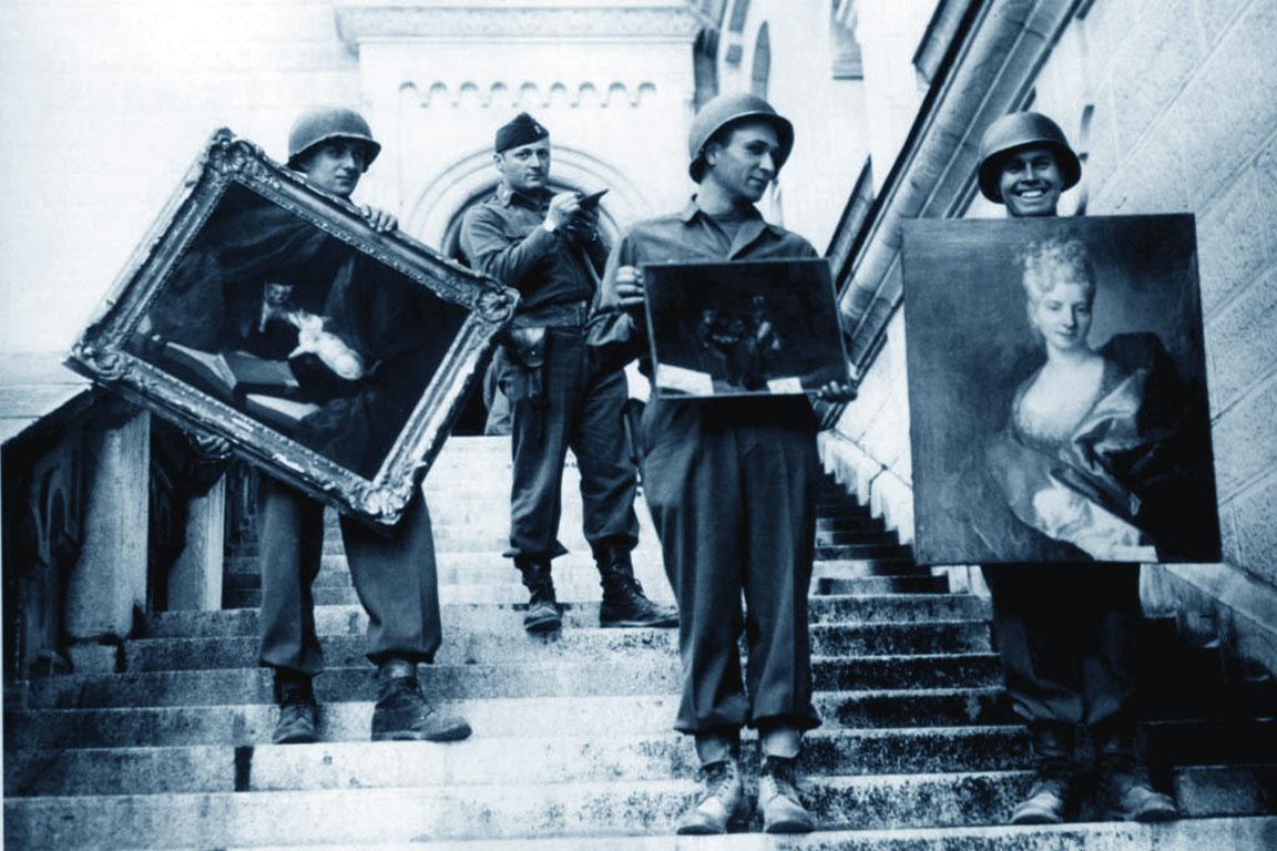 Monuments Men (foto del 1945)