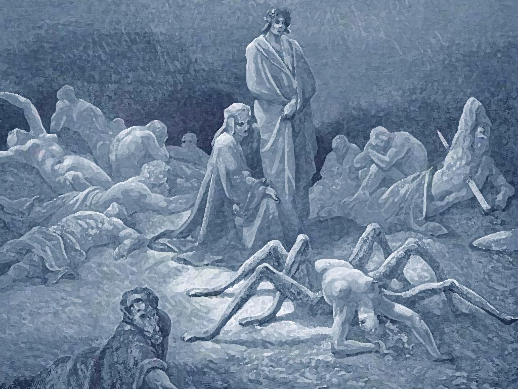 Purgatorio Aracne