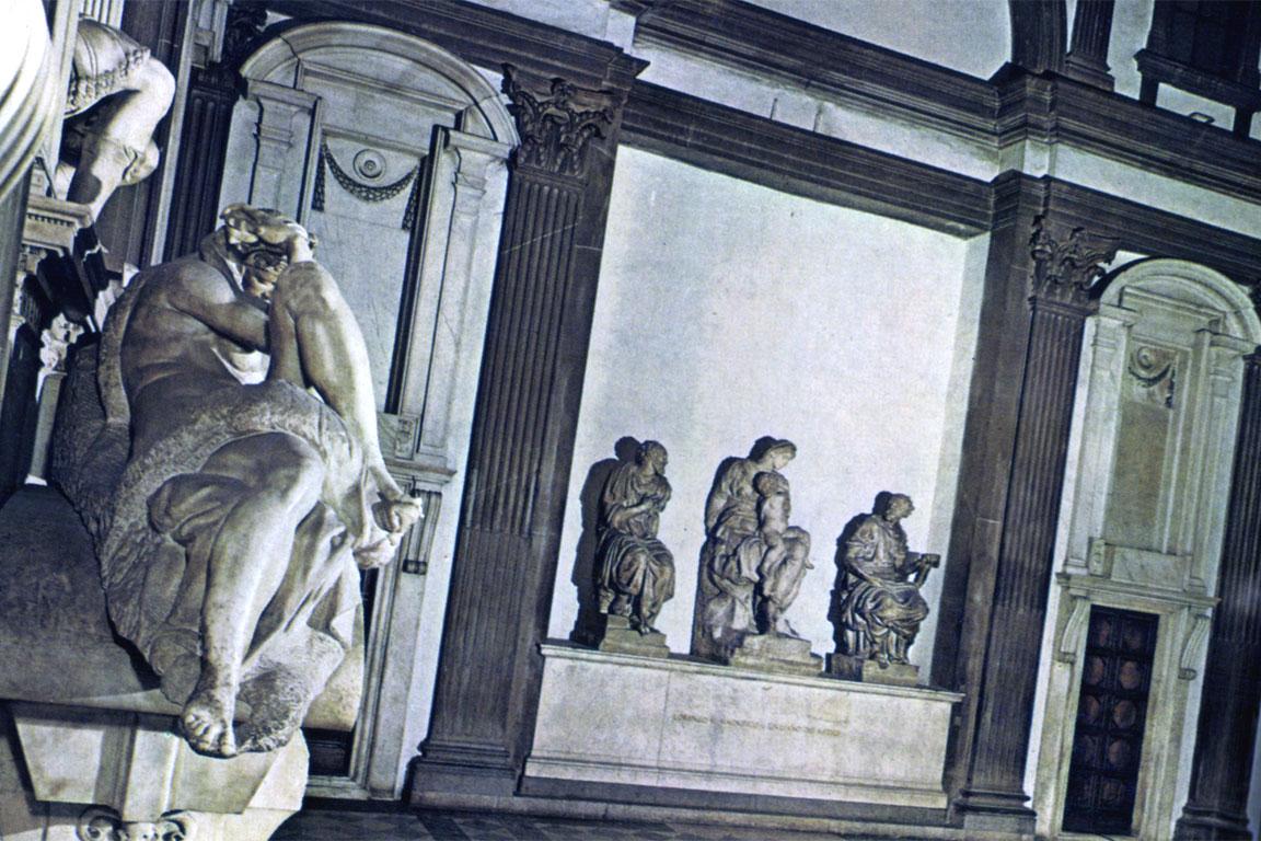 Michelangelo: Sagrestia nuova. San Lorenzo (Firenze)