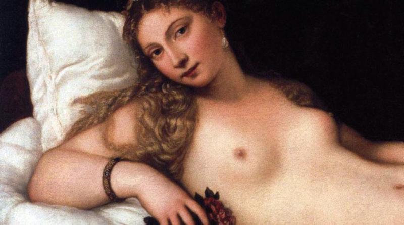 Venere di Urbino - dettaglio