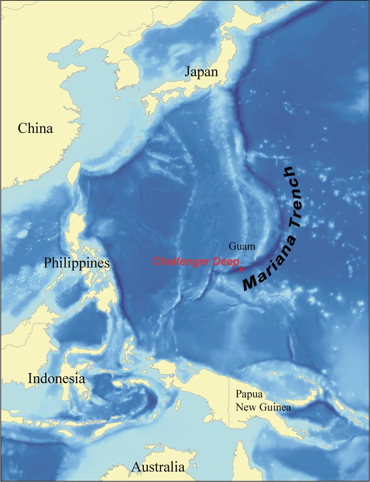 Fossa delle Marianne: il mare più profondo del mondo