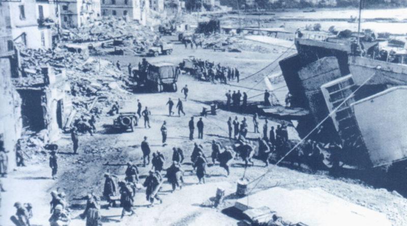 Operazione Shingle - Lo sbarco di Anzio