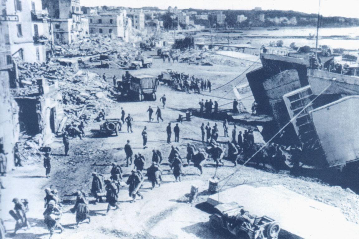 22 gennaio 1944: Lo sbarco di Anzio, operazione il cui nome in codice fu: Shingle