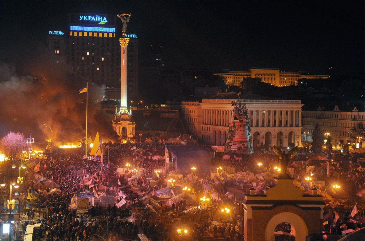 Kiev: gli scontri di piazza durante la crisi Ucraina (Febbraio 2014)