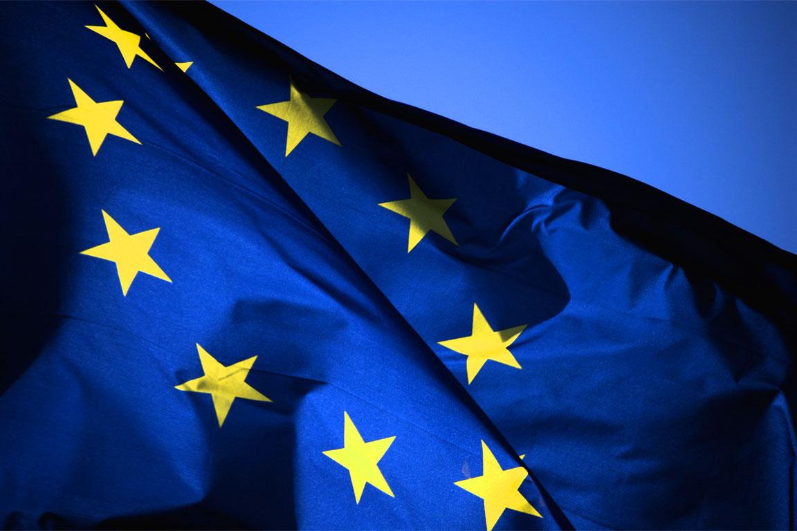 Europa Bandiera Europea Gli Studenti di Predazzo e la Giornata Europea della Giustizia Civile
