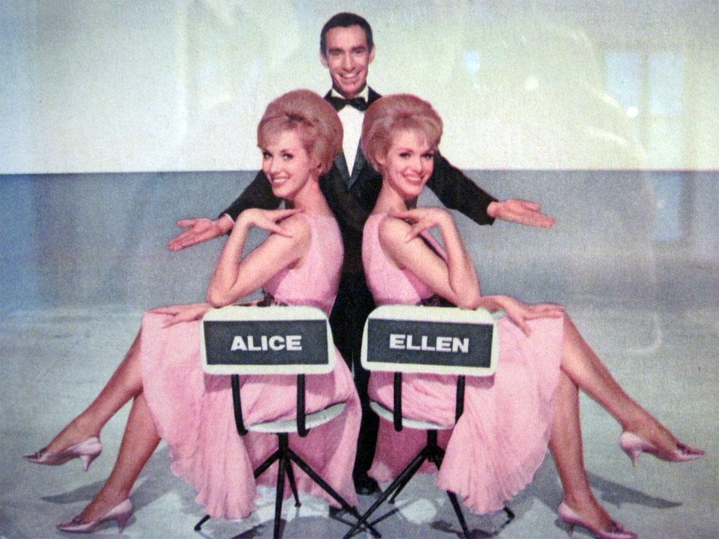 Le sorelle Kessler con Don Lurio
