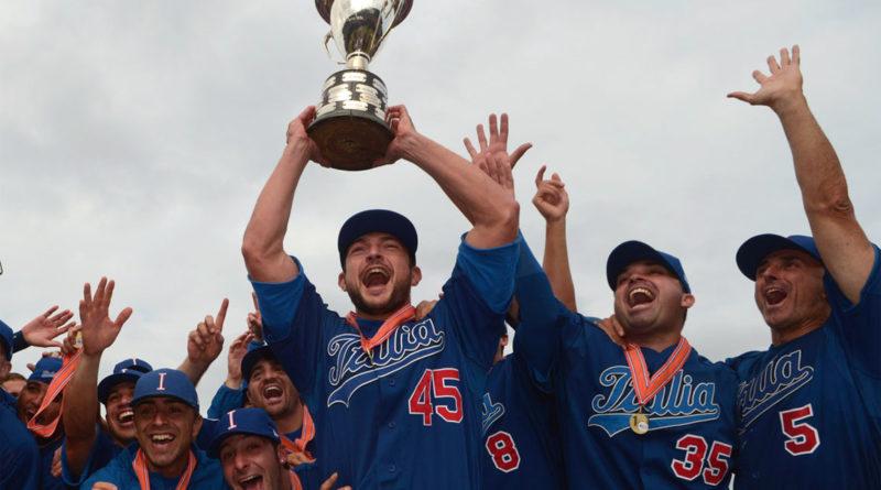 coppa baseball nazionale italiana campioni europa
