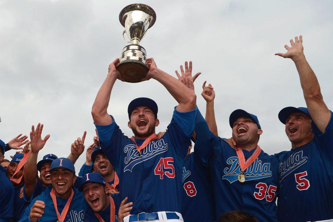Baseball: Italia campione d'Europa nel 2012
