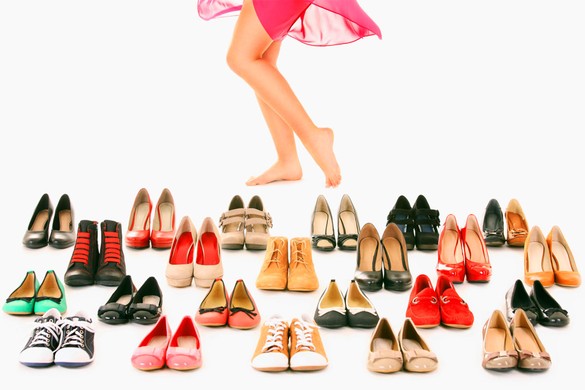 La passione per le scarpe da donna