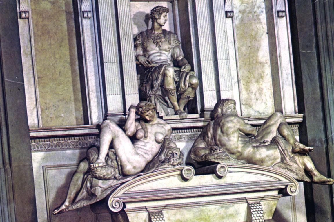 Michelangelo: tomba per Giuliano duca di Nemours