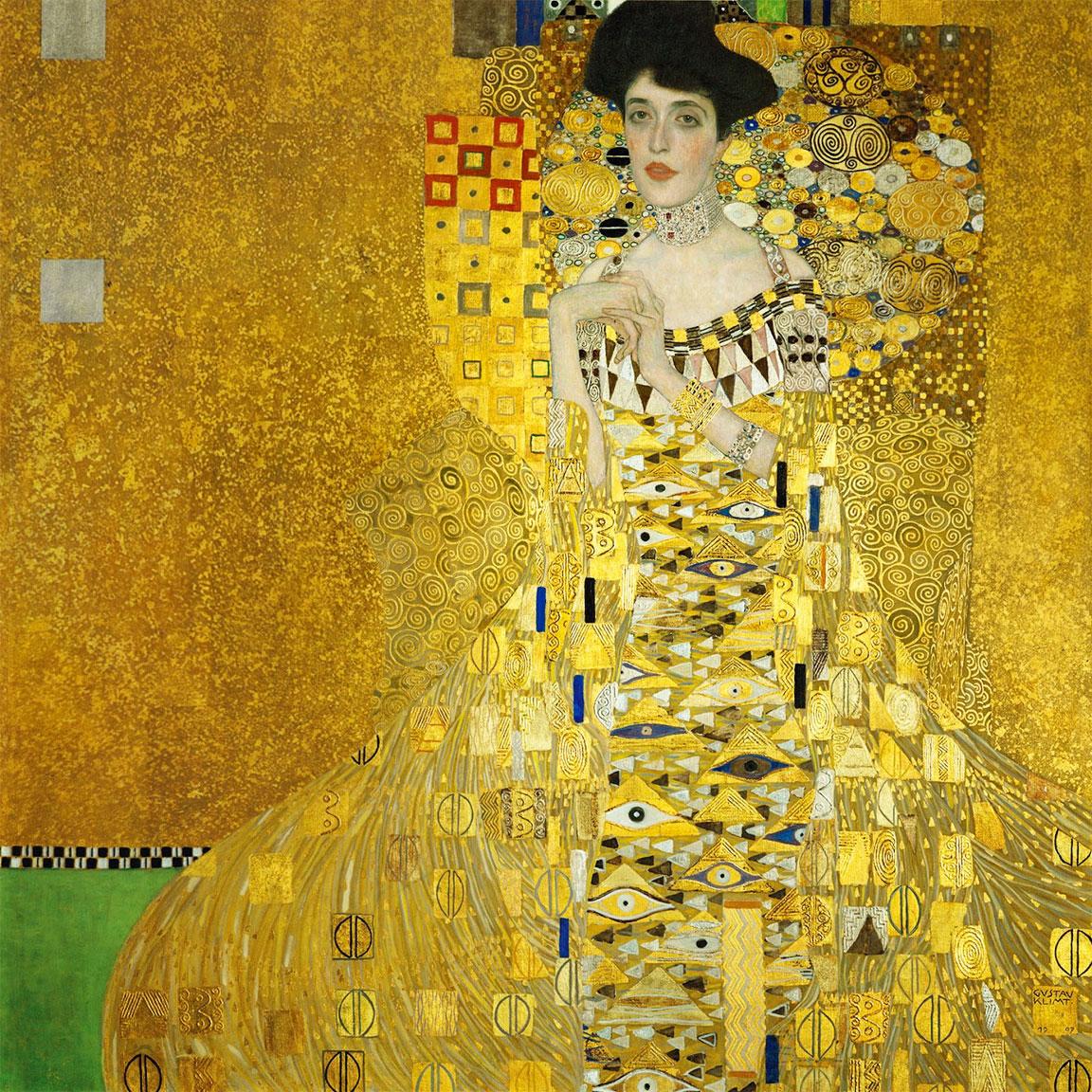 Ritratto di Adele Bloch-Bauer - Gustav Klimt