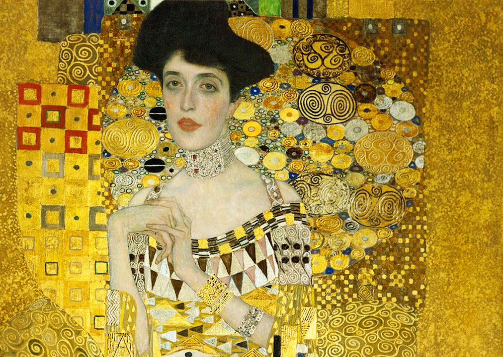 Adele Bloch Bauer ritratto Klimt