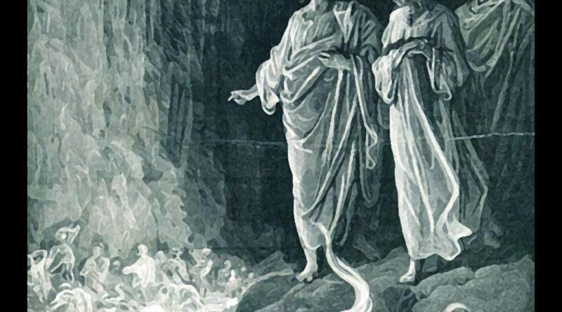 Divina Commedia Purgatorio Canto 25 Lussuriosi