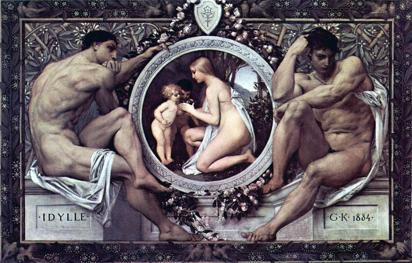 Idillio - Klimt