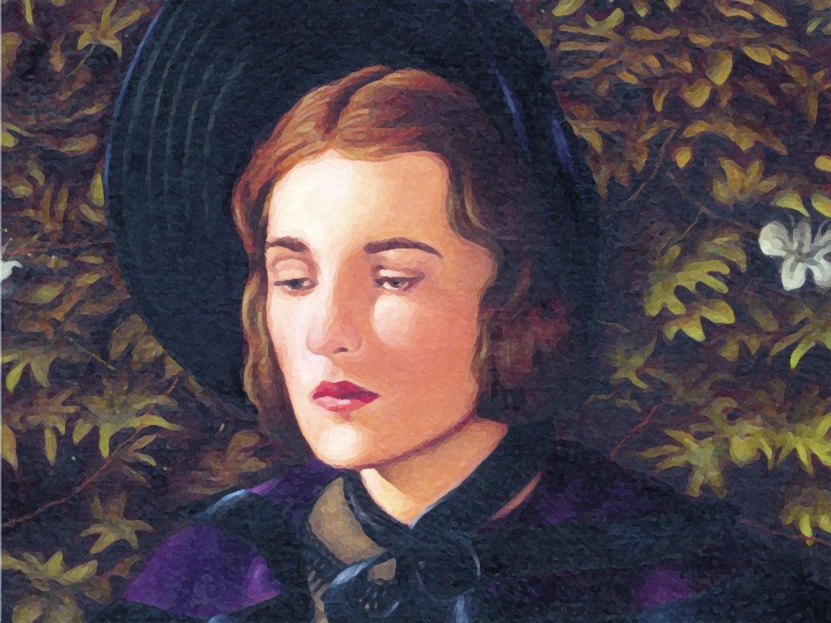 Jane Eyre, un'illustrazione tratta da una copertina inglese