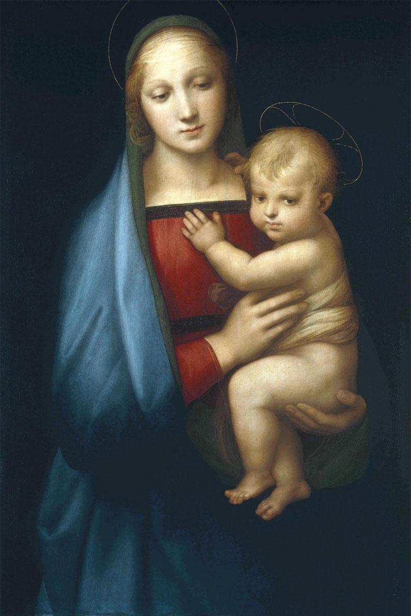 Madonna del Granduca - Raffaello