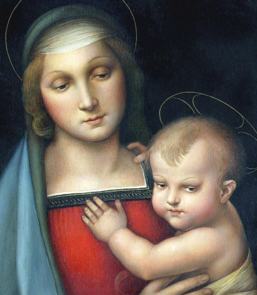 Madonna del Granduca, celebre opera di Raffaello