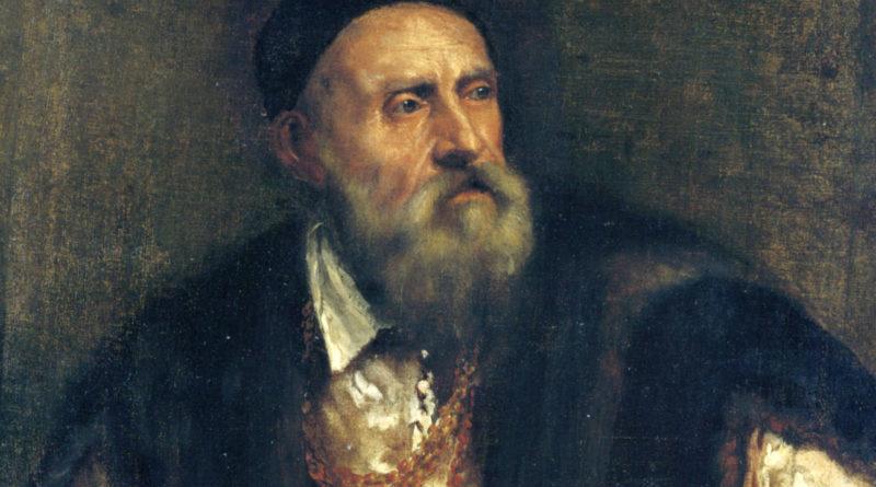 Tiziano Vecellio autoritratto