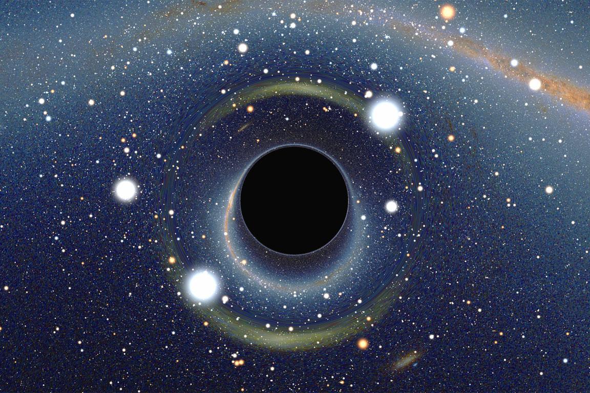 Spazio: buchi bianchi e buchi neri