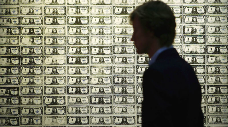 192 one dollar bills - Andy Warhol