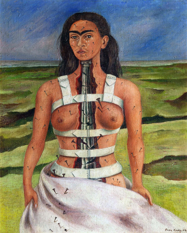 Frida Kahlo: Colonna rotta (opera del 1944)