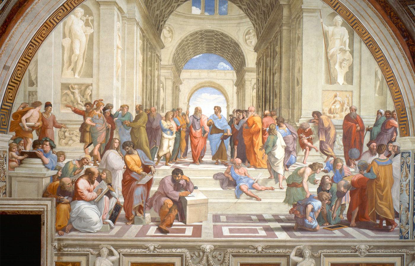 La scuola di Atene - Raffaello
